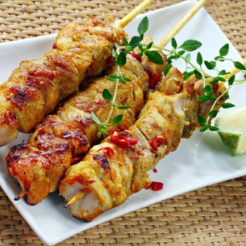 rosemary chicken kebabs rosemary lemon chicken skewers warm mayo dijon ...