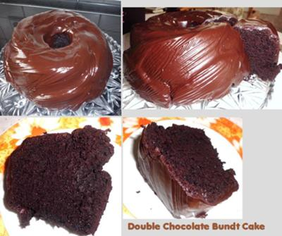 Do you see how moist this wonderful bundt cake is? Just delicious!