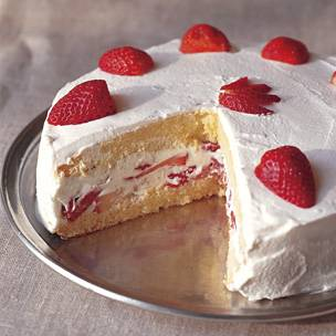 Butter Sponge Cake Genoise Recipe